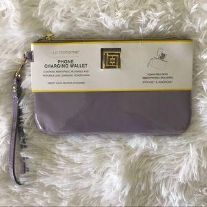 New Phone Charging Wristlet Wallet
